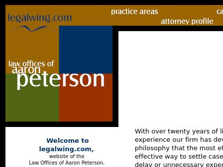 Aaron C. Peterson, Attorney at Law