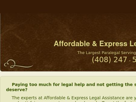 Affordable and Express Legal