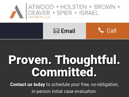 Atwood, Holsten, Brown, Deaver & Spier Law Firm, P.C., L.L.O.