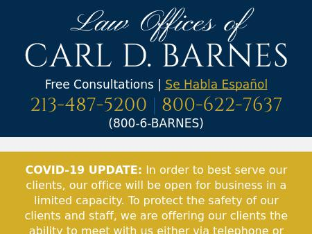 Barnes Carl D Law Offices Of   Los Angeles CA Law   LawyerLand