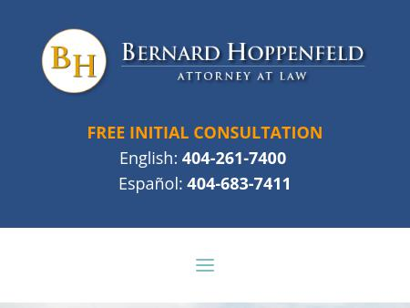 Bernard Hoppenfeld, Attorney at Law