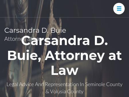 Carsandra D. Buie, Attorney at Law