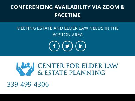 Center For Elder Law & Estate Planning
