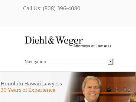 Diehl And Weger Attorneys At Law-A Law Corporation