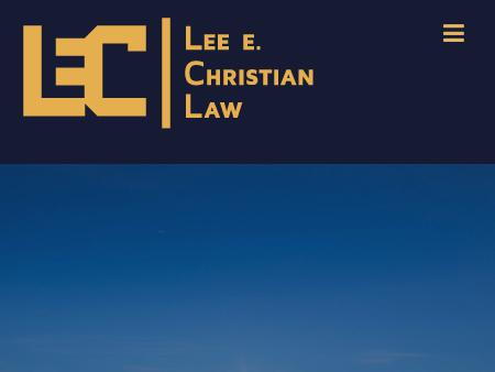 Lee Christian Law