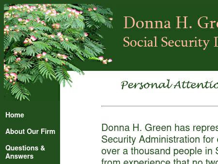 Green, Donna H Attorney At Law PLLC