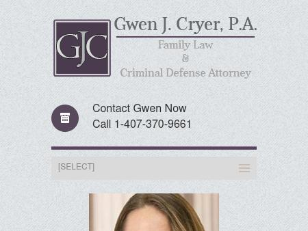 Gwen J. Cryer, Attorney at Law