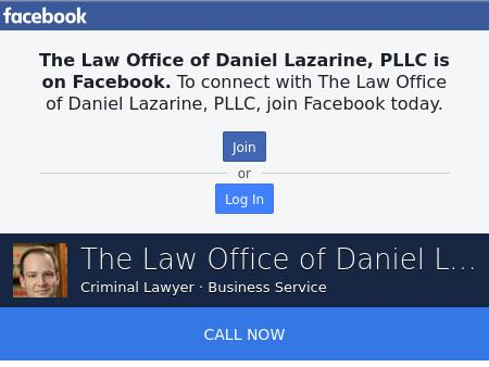 The Law Office of Daniel Lazarine, PLLC