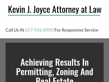 Kevin J. Joyce, Attorney at Law