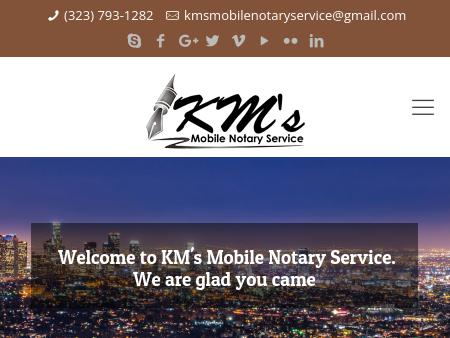 KM's Mobile Notary Services