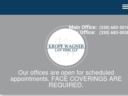Oh Law Firm >> Kropf Wagner Law Firm Llp Orrville Oh Law Lawyerland