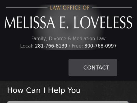 Law Office of Melissa E. Loveless
