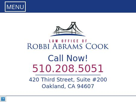 Law Office Of Robbi Cook