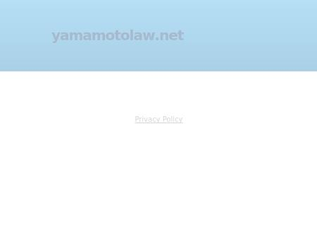 Law Offices of Alan H. Yamamoto