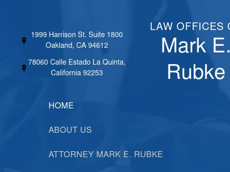 Law Offices of Mark E. Rubke