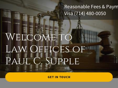 Law Offices Of Paul C Supple