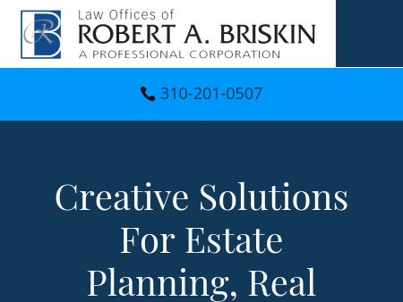 Law Offices of Robert A. Briskin, A Professional Corporation
