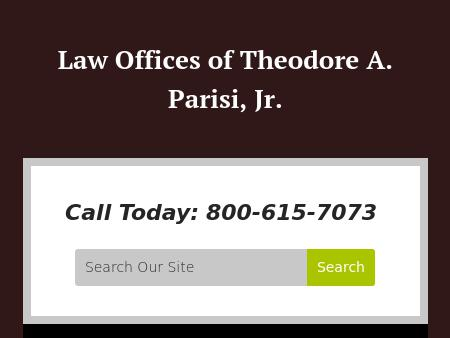 Law Offices of Theodore A. Parisi, Jr.
