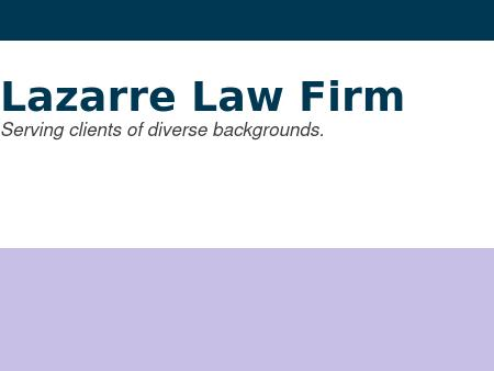 Lazarre Law Firm