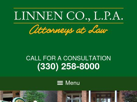 Oh Law Firm >> Linnen Co Lpa Akron Oh Law Lawyerland
