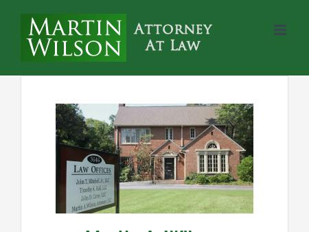 Martin Wilson, Attorney at Law
