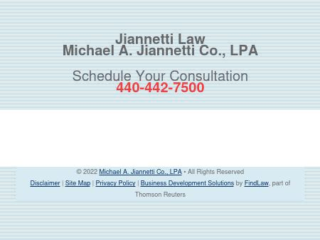 Michael A. Jiannetti Co., LPA