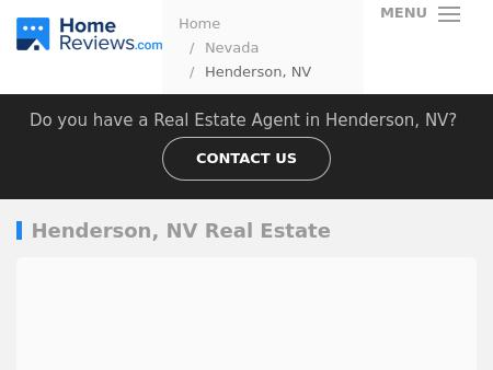 Henderson NV Real Estate Services