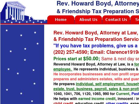 Rev. Howard Boyd, Attorney at Law
