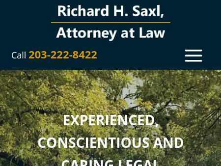 Richard H. Saxl, Attorney at Law