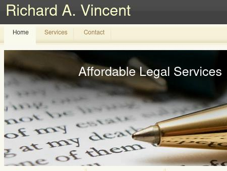 RICHARD VINCENT ATTORNEY AT LAW