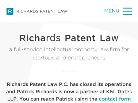 Richards Patent Law P.C.