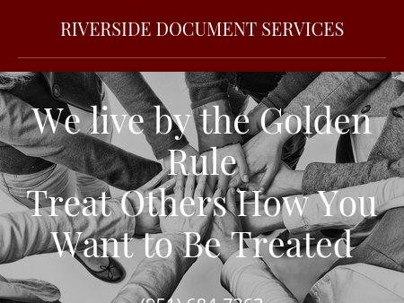 RiversideDocument Services