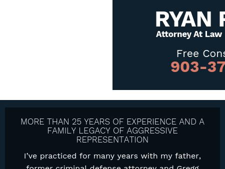 Ryan R. Hill, Attorney at Law