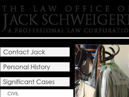 Schweigert Jack Attorney At Law A Law Corporation