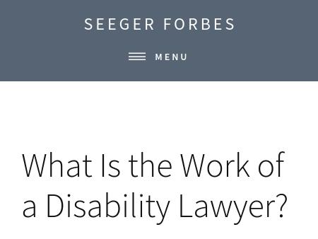 Seeger & Forbes