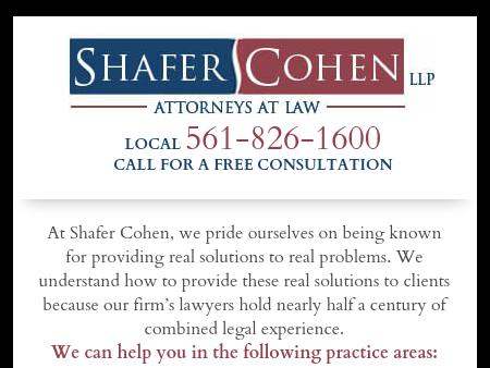 Shafer Cohen, LLP
