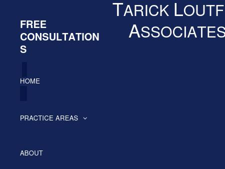 Tarick Loutfi Attorney at Law