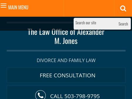 The Law Office of Alexander M. Jones