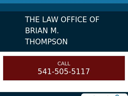 The Law Office of Brian M. Thompson