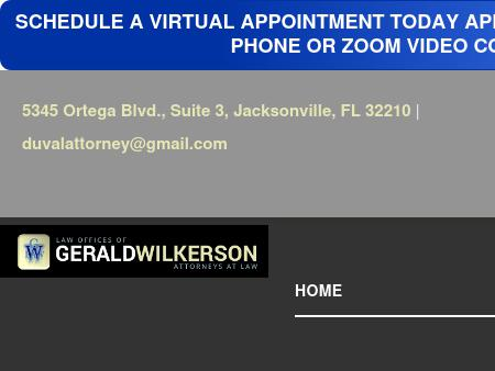 The Law Office Of Gerald Wilkerson Pa