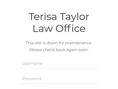 The Law Office of Terisa Taylor, P.C.