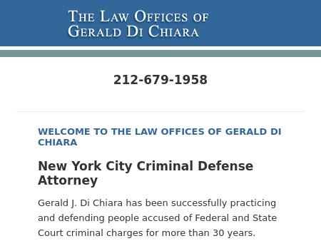 The Law Offices of Gerald Di Chiara