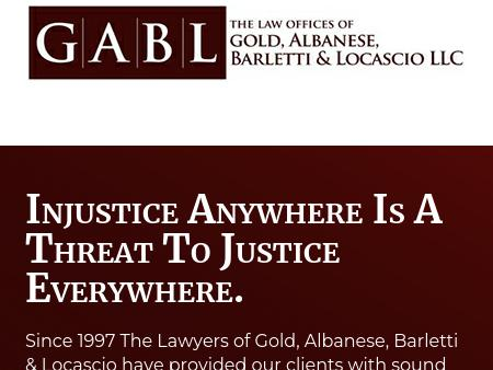 The Law Offices of Gold, Albanese & Barletti