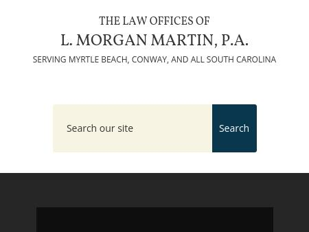 The Law Offices of L. Morgan Martin P.A.