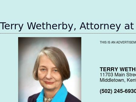 Wetherby Terry , Attorney At Law