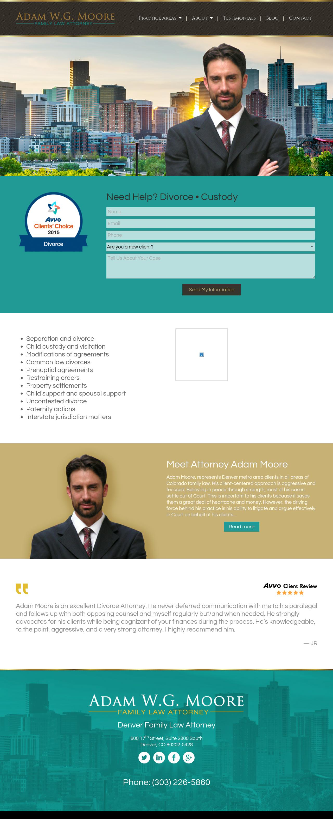 Adam W.G. Moore, LLC - Denver CO Lawyers