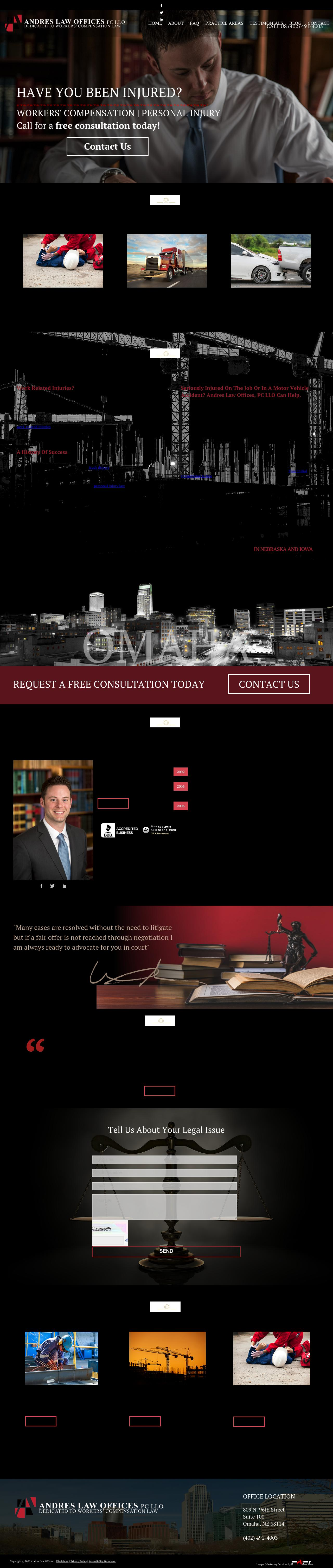 Andres Law Offices - Omaha NE Lawyers