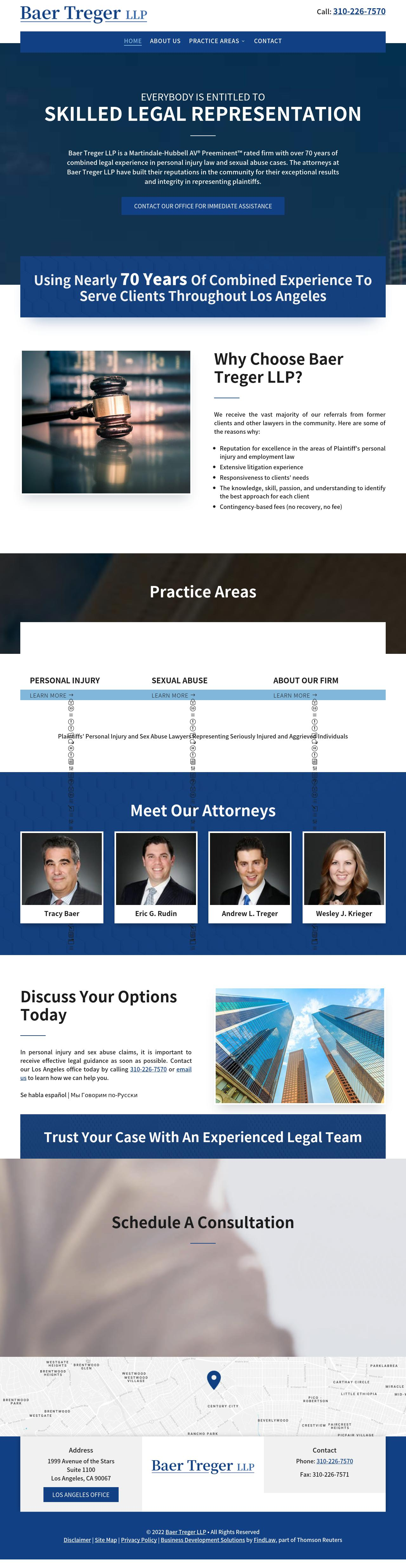Baer Treger LLP - Los Angeles CA Lawyers