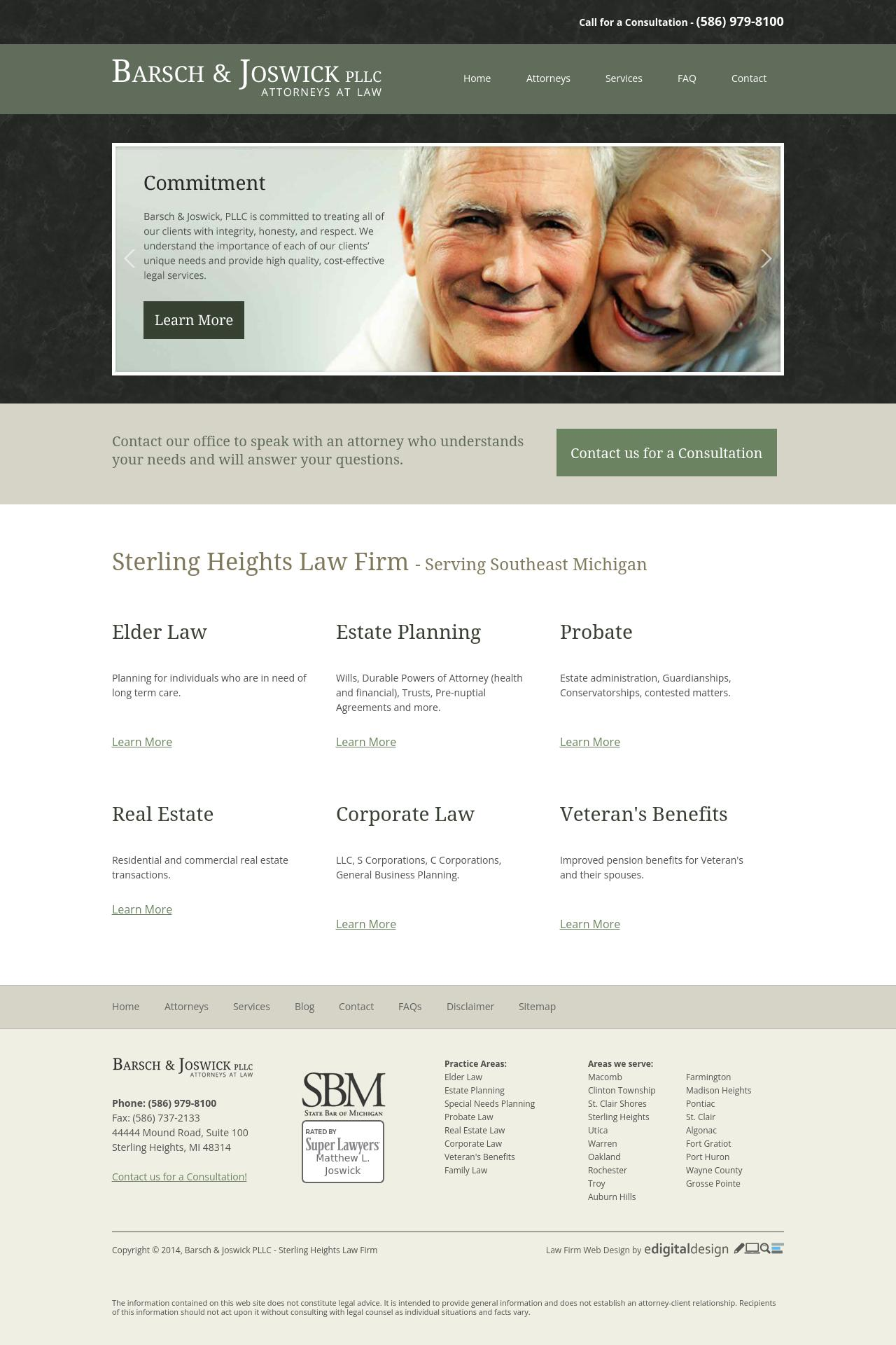 Barsch & Joswick PLLC - Sterling Heights MI Lawyers