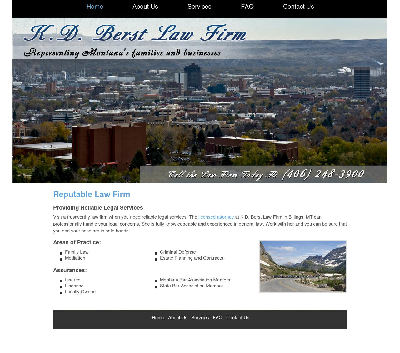 Berst, K.D. - Law Firm - Billings MT Lawyers